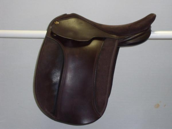 flyde Show saddle, 16, W, brown