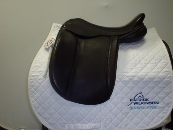 black_country Show saddle, 17, W, brown