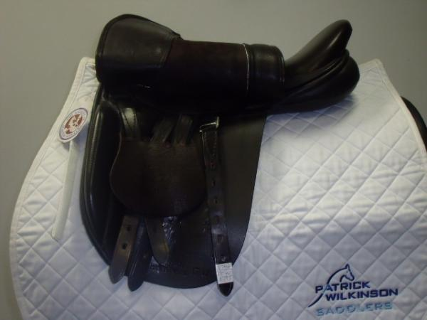 black_country Show saddle, 17, , brown