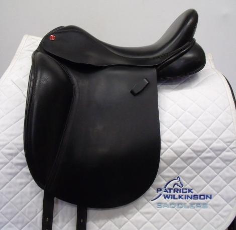 All Saddle Solutions dressage, 17.5, W, black