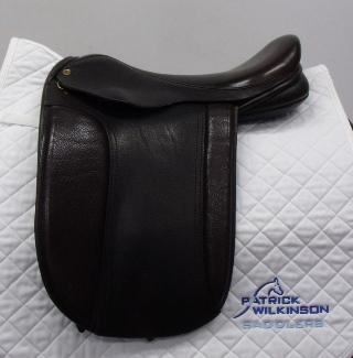 black_country Classic show saddle, 17, XW, black