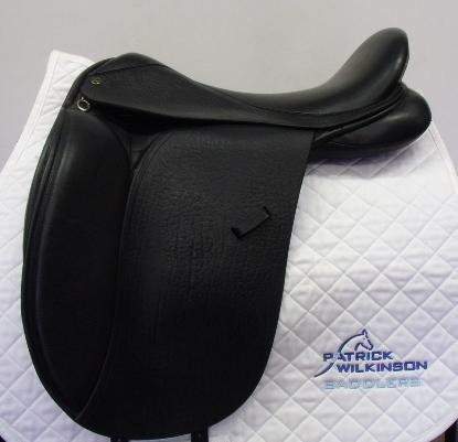 ideal dressage, 18.5, XW, black
