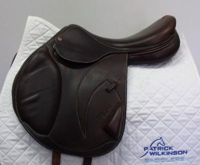 equipe Synergy single flap jump, 17, M, brown