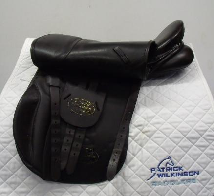 English saddle company GP, 18, , brown