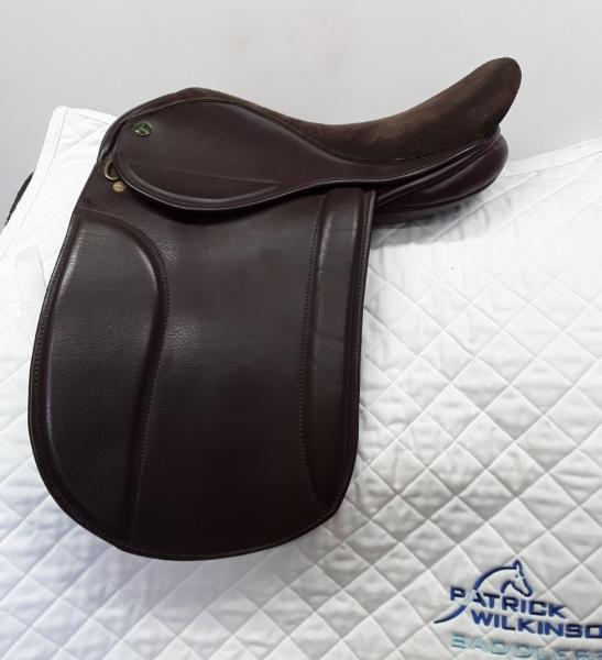 ideal Show saddle, 15, XW, brown