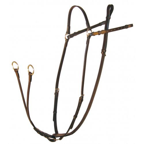ascot hunting breastplate with running martingale attachment 25 L1